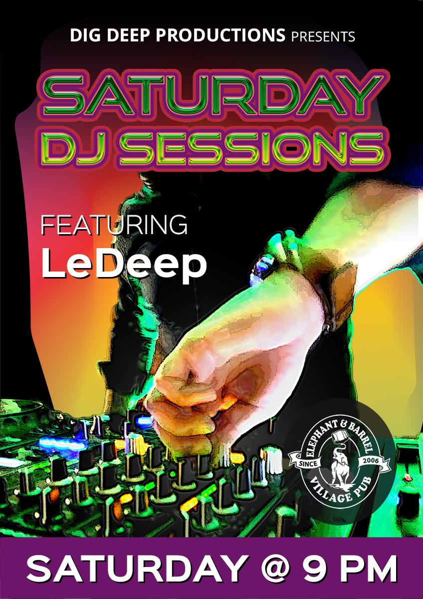 SATURDAY DJ SESSIONS - AUG 19